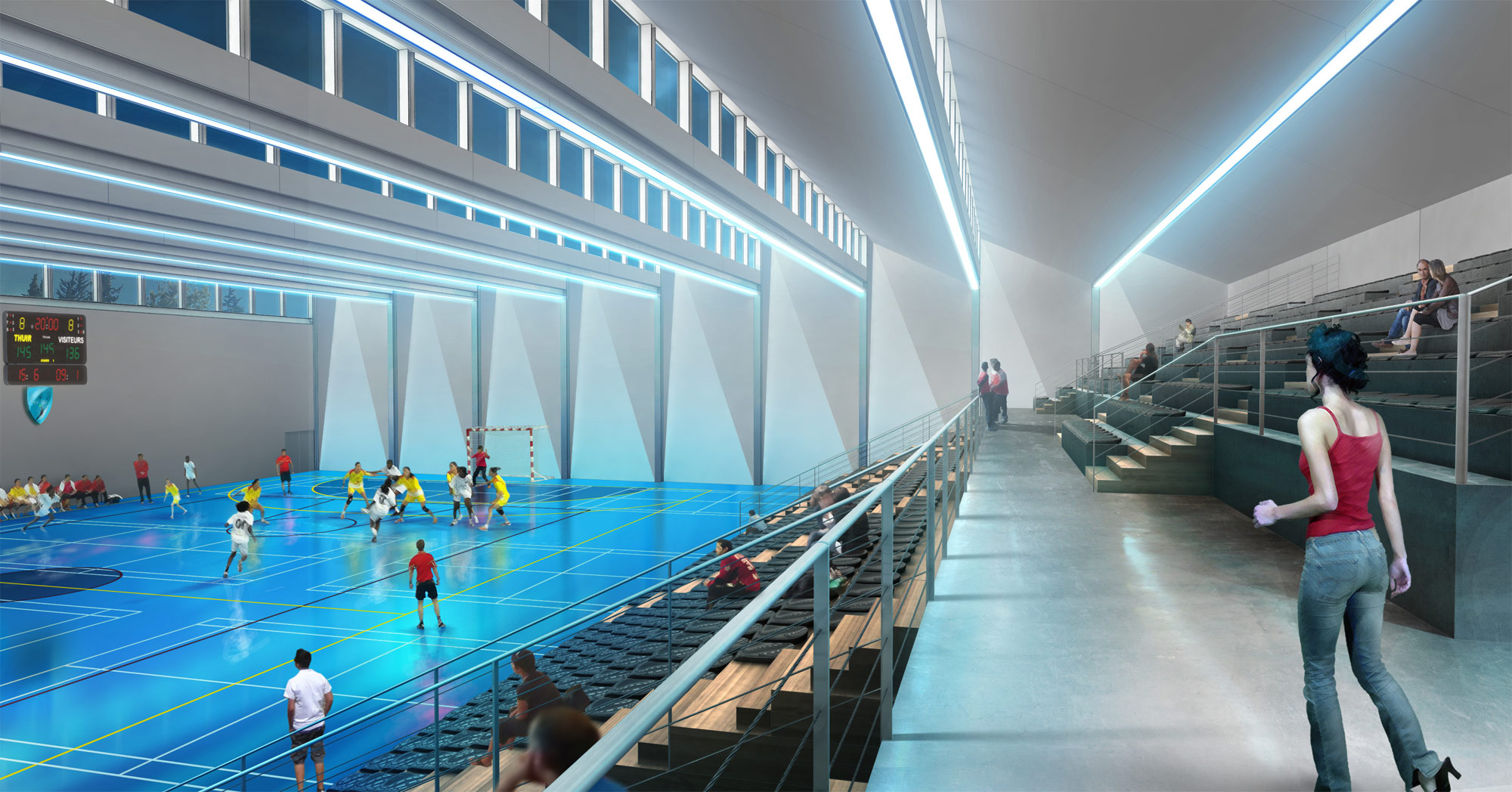 perspective 3d architecture-interieur-stade-freelance bordeaux