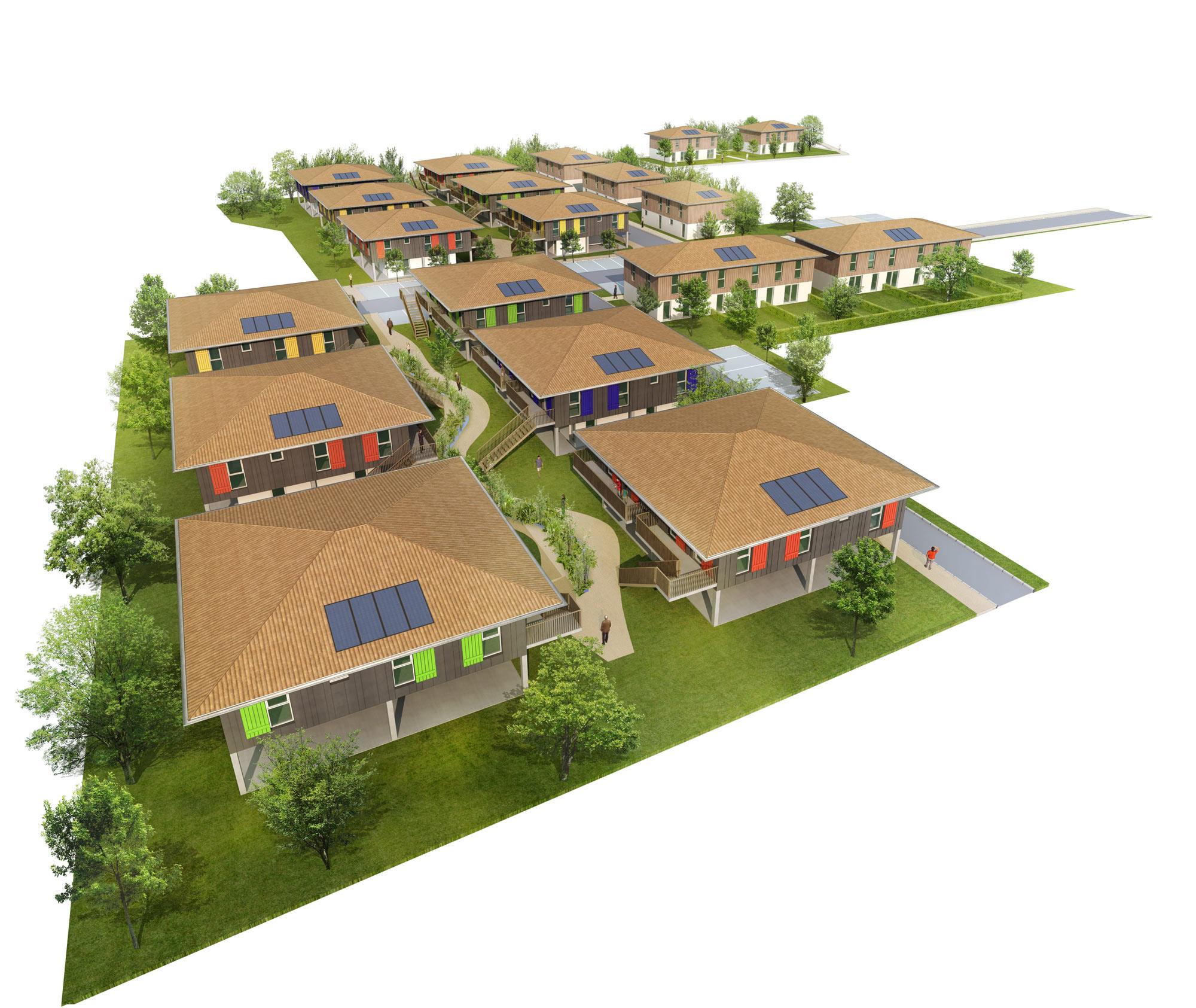 promotion-immobiliere-3d pilotis