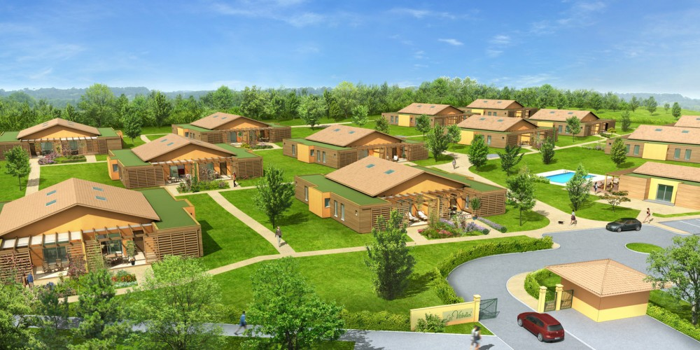 village vacance promotion immobiliere 3d