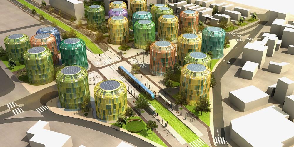 urbanisme image 3d concours