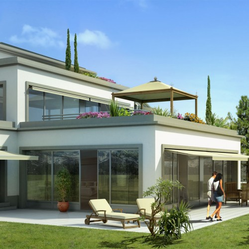 residence-perspectives-3d-jardin lac leman